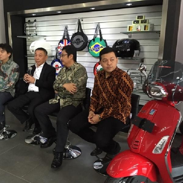 Piaggio Resmikan Dealer Konsep Store di Semarang