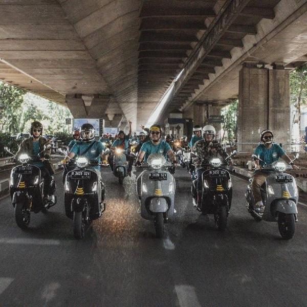 "PT Piaggio Indonesia Hadirkan Kompetisi Digital ""Live More with Positivity"""
