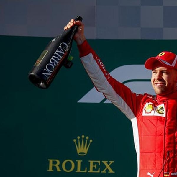 Lagi, Sebastian Vettel Pecundangi Lewis Hamilton di Australia
