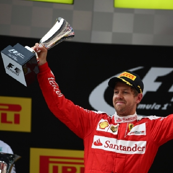 F1: Vettel Tertolong Safety Car