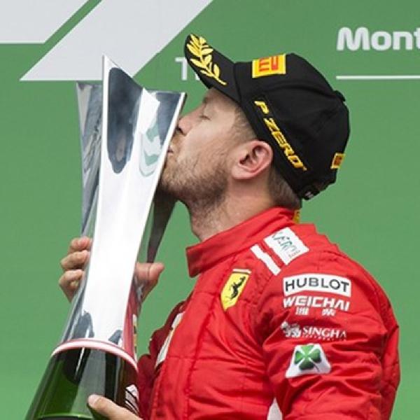 Banyak Hal yang Didapatkan Vettel Dari Balapan di Kanada
