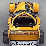 Simak Tampilan Gabungan Plymouth Prowler dengan Mobil F1