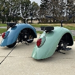 Volkspod, Skuter Aneh Dari Fender Volkswagen Klasik Beetle