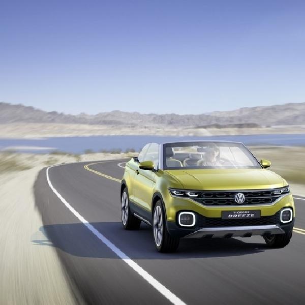 Volkswagen Akan Lahirkan T-Cross Brezza dengan Atap Terbuka