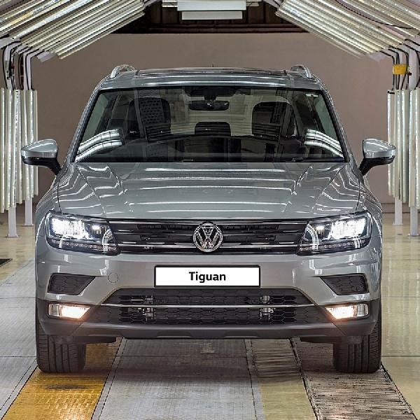 Volkswagen Mulai Produksi Tiguan di India