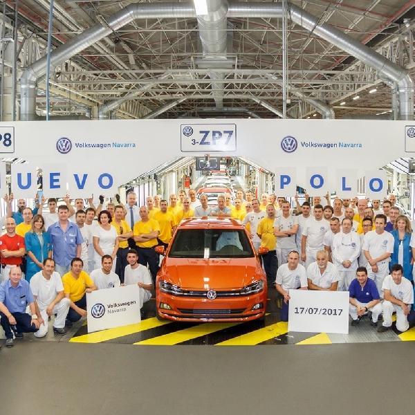 Resmi Diproduksi - Volkswagen Polo 2017 Siap Tantang Ford Fiesta
