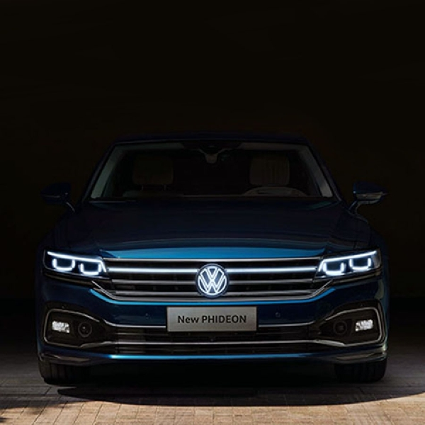 VW Ungkap Phideon Facelift 2021 Tanpa Powertrain V6 dan PHEV