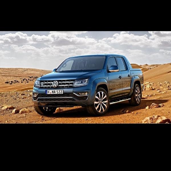 Volkswagen Amarok Facelift Usung Mesin Baru