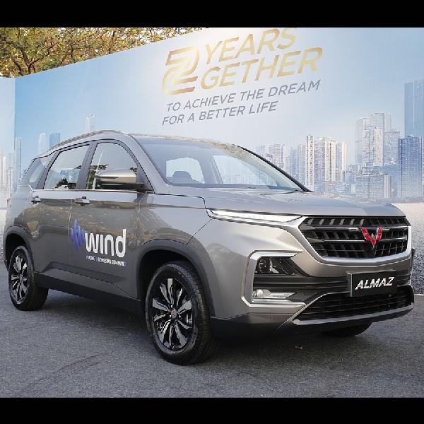 Wuling Almaz Meraih Gelar Car of the Year 2019
