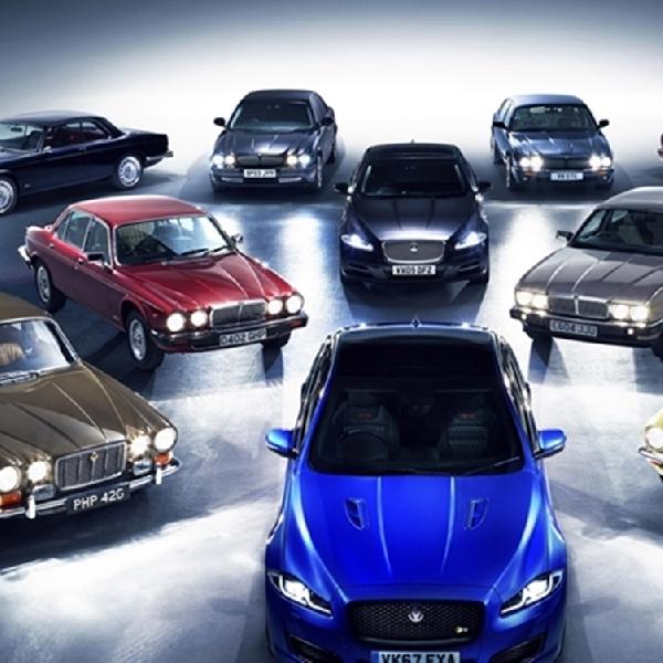 Jaguar Rencanakan Konvoi Untuk Peringati Jaguar XJ