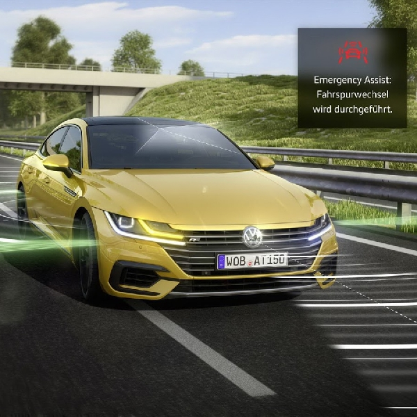 Arteon Innovative Emergency Assist Sytem dari Volkswagen