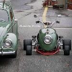 VW Bangun Mobil Go Kart Berbasis Fender Beetle