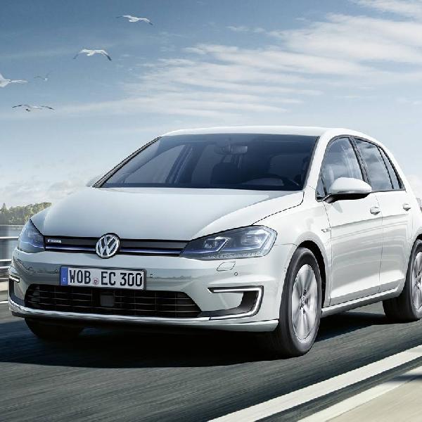 New VW e-Golf Tawarkan Jarak Tempuh 300 Km