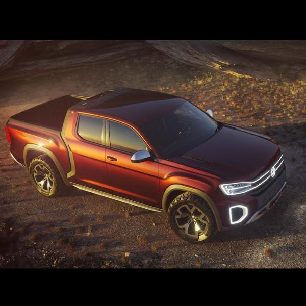 Konsep Pickup Midsize Atlas Tanoak Bertenaga 276 Hp Diperkenalkan di NYAS