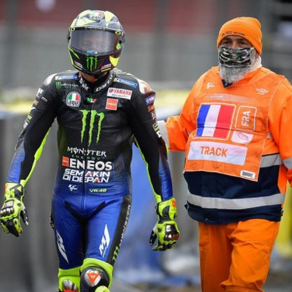MotoGP: Waduh Valentino Rossi Terinfeksi Covid-19
