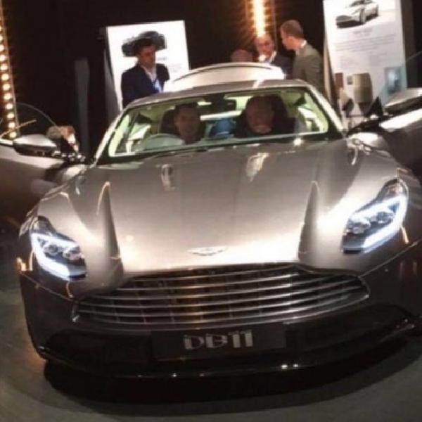 Wajah Asli Aston Martin DB11 Mulai Bocor