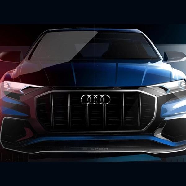 Wajah Audi Q8 SUV Concept