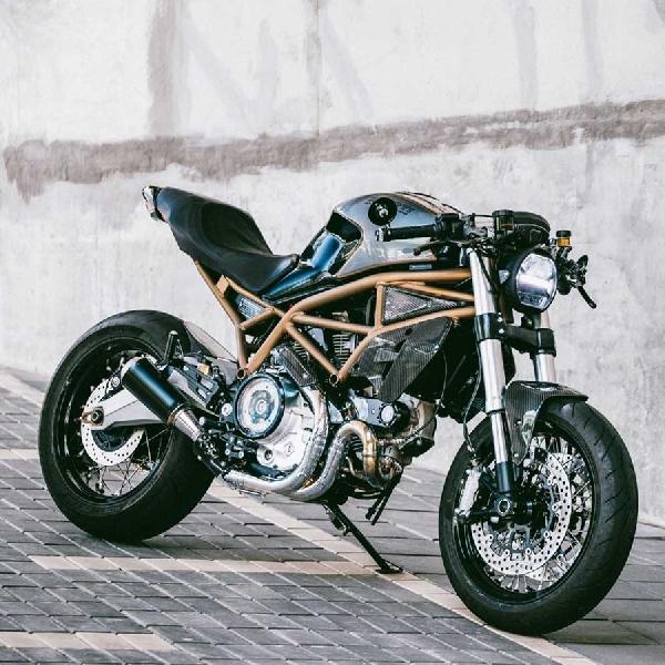 Estetika Street Fighter untuk Ducati Monster 797, Anggun tapi Ganas