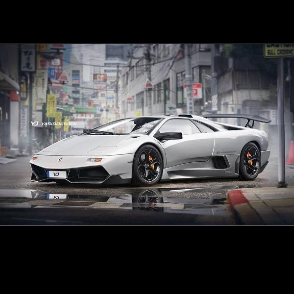 Sentuhan Murcielago SV dan Aventador pada Lamborghini Diablo