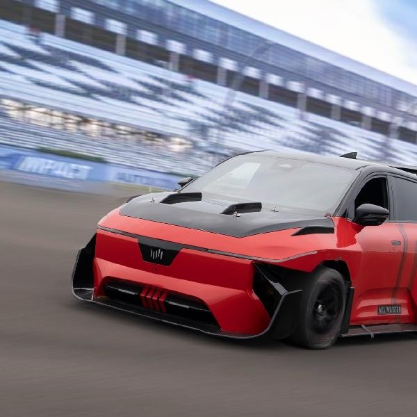 WM Motor China Luncurkan Mobil Balap 805 Hp Berbasis Crossover Listrik