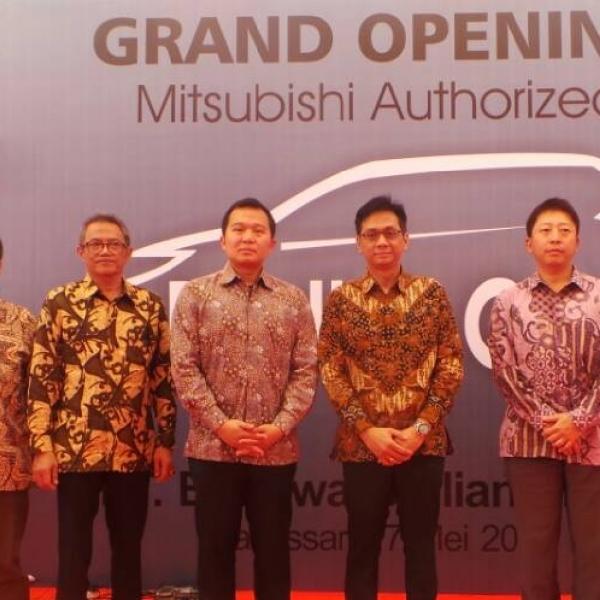 Mitsubishi Resmikan Bodi dan Cat Pertama di Indonesia Timur