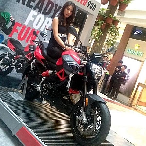 Shiver 900, Sport Naked Bike Terbaru dari Aprilia  Siap Mengaspal di Indonesia