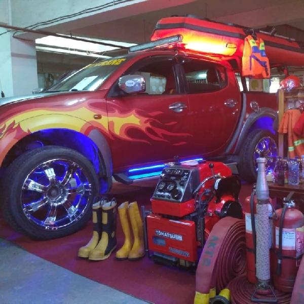 Bila Mobil Harian Dimodif Fire Fighter Rescue,  Unik, Stylish  dan Mewah