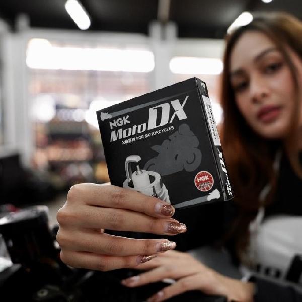 Busi Premium NGK MotoDX Untuk Motor Harian Lebih Responsif dan Irit