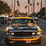 Ford Mustang 1969, Cangkokan Twin Turbo dan Fitech EFI Berpotensi 1000 hp