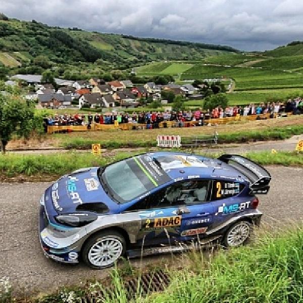 WRC: Ott Tanak Berhasil Rebut Kemenangan di Reli Jerman