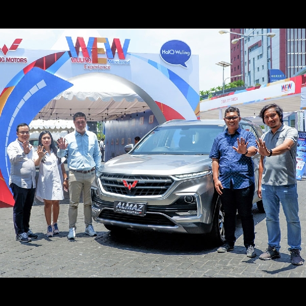 Wuling Experience Weekend Digelar di  Manado Town Square
