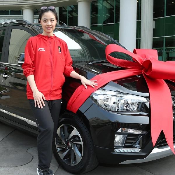 Apresiasi Wuling Motors Atas Prestasi Gemilang Lindswell Kwok