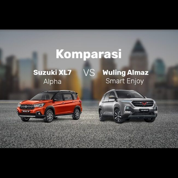 Wuling Almaz Smart Enjoy Melawan Pendatang Baru Suzuki XL7 Alpha, Pilih Mana?