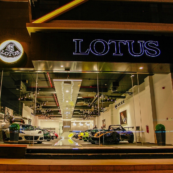 Lotus Buka Showroom Baru di Dubai