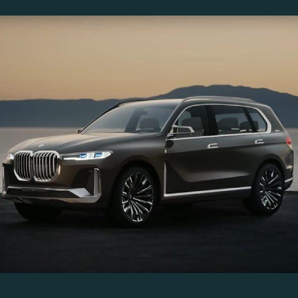 Tampilan Interior BMW X7 Mulai Terbuka