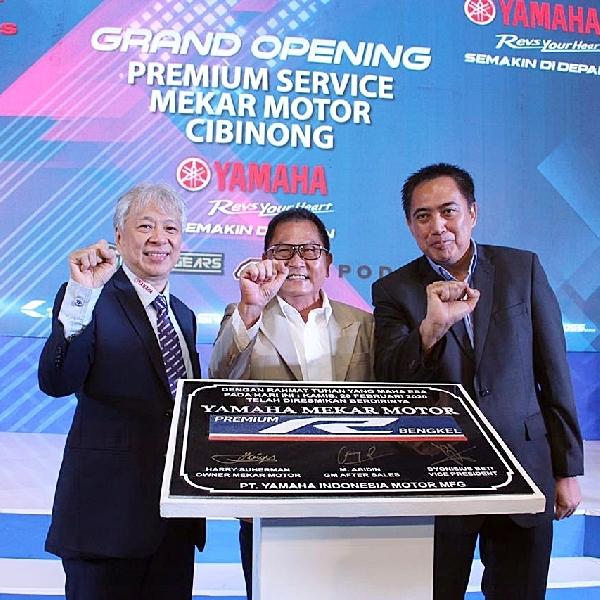 Yamaha Mekar Motor Cibinong Punya Mesin Dyno dan Speed Shop