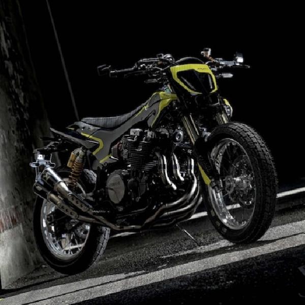 Yamaha XJR1300 Motor Edisi Khusus untuk Valentino Rossi