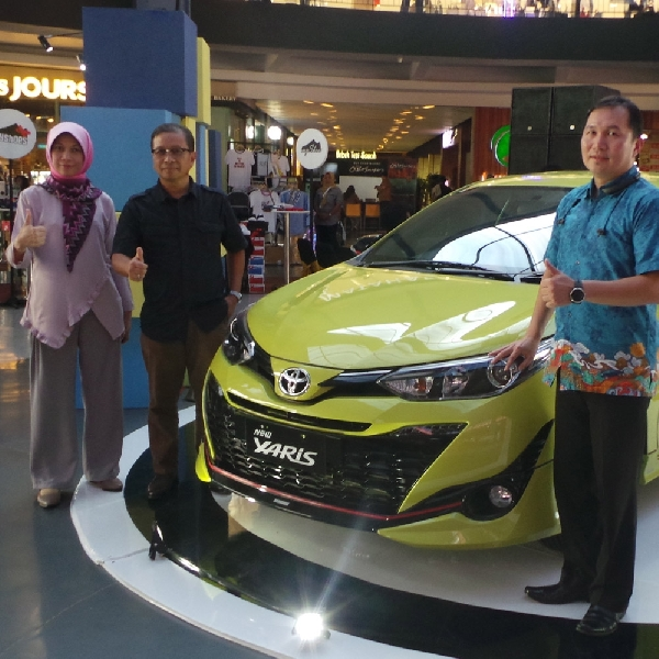 Rupanya Ini Alasan Toyota Hadirkan Warna Cerah Untuk New Yaris