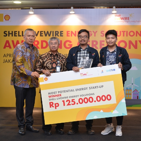 Shell Umumkan Pemenang Shell LiveWIRE Energy Solutions