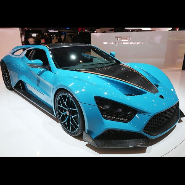 Zenvo TS1 GT, Supercar Denmark dengan Power 1163 hp
