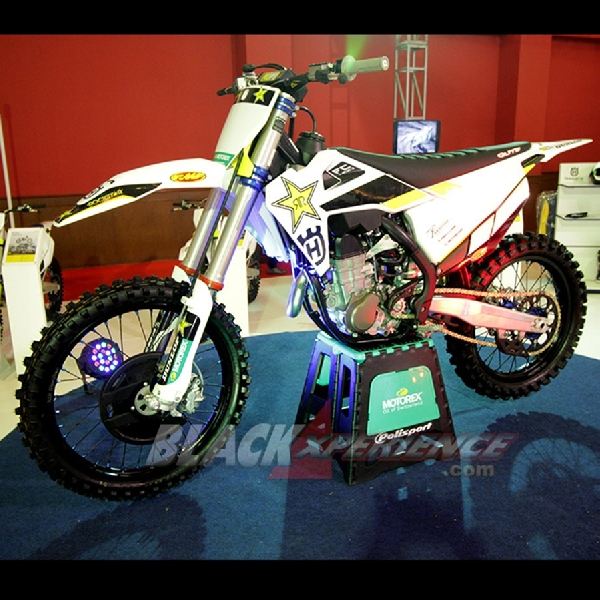 Husqvarna FC450 Rockstar Edition, DNA Tertinggi Supercross