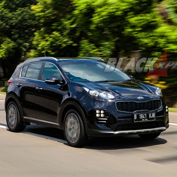All New KIA Sportage GT Line Ultimate - Good Balance