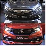 Duo Jagoan Honda Terbaru New Mobilio Dan New Civic Meluncur