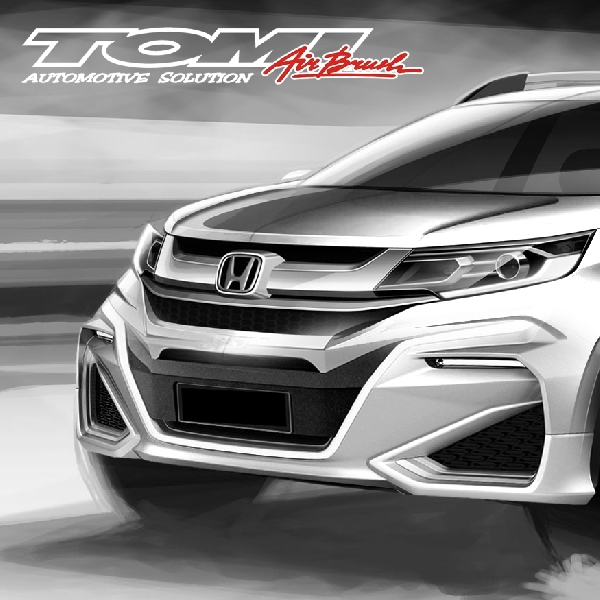 Modifikasi Virtual Honda BR-V