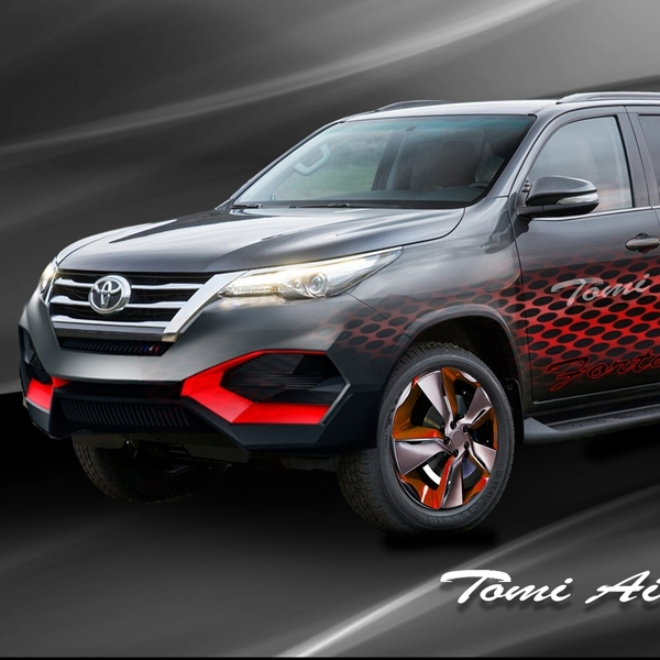 Tips Modifikasi Minor Toyota All New Fortuner