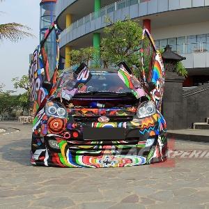 Modifikasi Extreme Daihatsu Sirion
