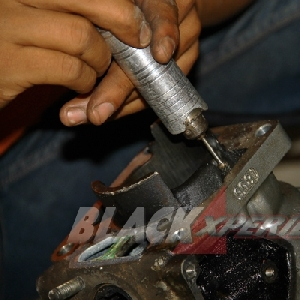 Proses tuner blok mesin Kawasaki Ninja RR150 Racing