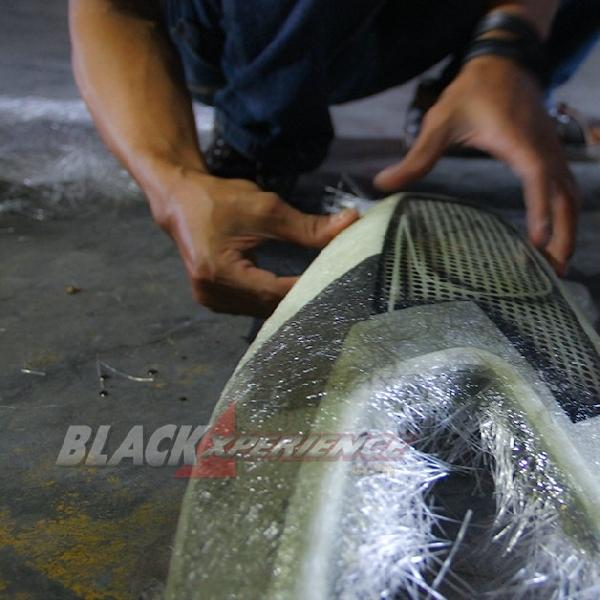 Donz Autobodywork Konsentrasi Garap Bodi Modifikasi Yamaha NMax