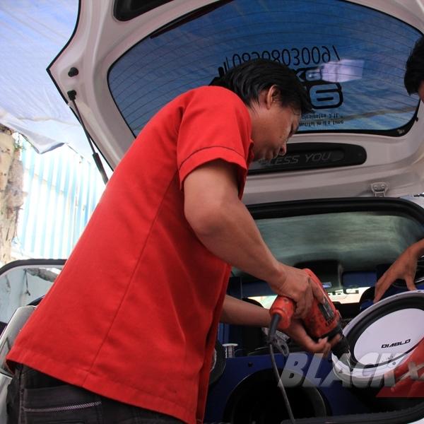 Modifikasi Mazda2 Memasuki Sektor Interior