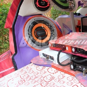 Modifikasi Daihatsu Sirion The Kitty Pirates